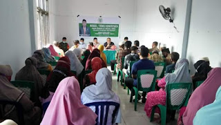 Kapolsek Labakkang bersama Camat hadiri Peringatan hari perempuan Internasional 2021