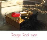 rouge mat rock de YSL