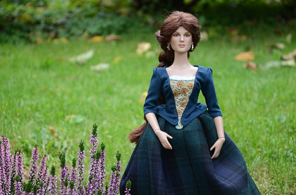 Outlander inspired outfit for Tonner doll.