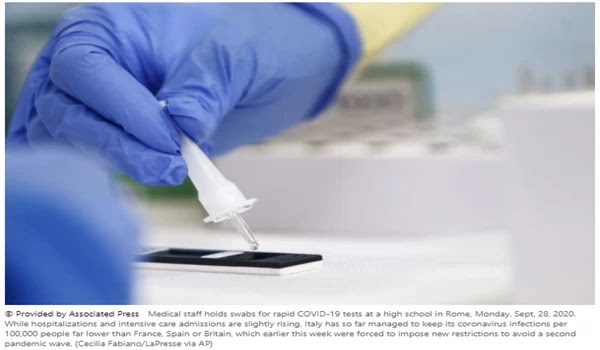 WHO, partners conduct faster CoVID-19 tests for poorer countries