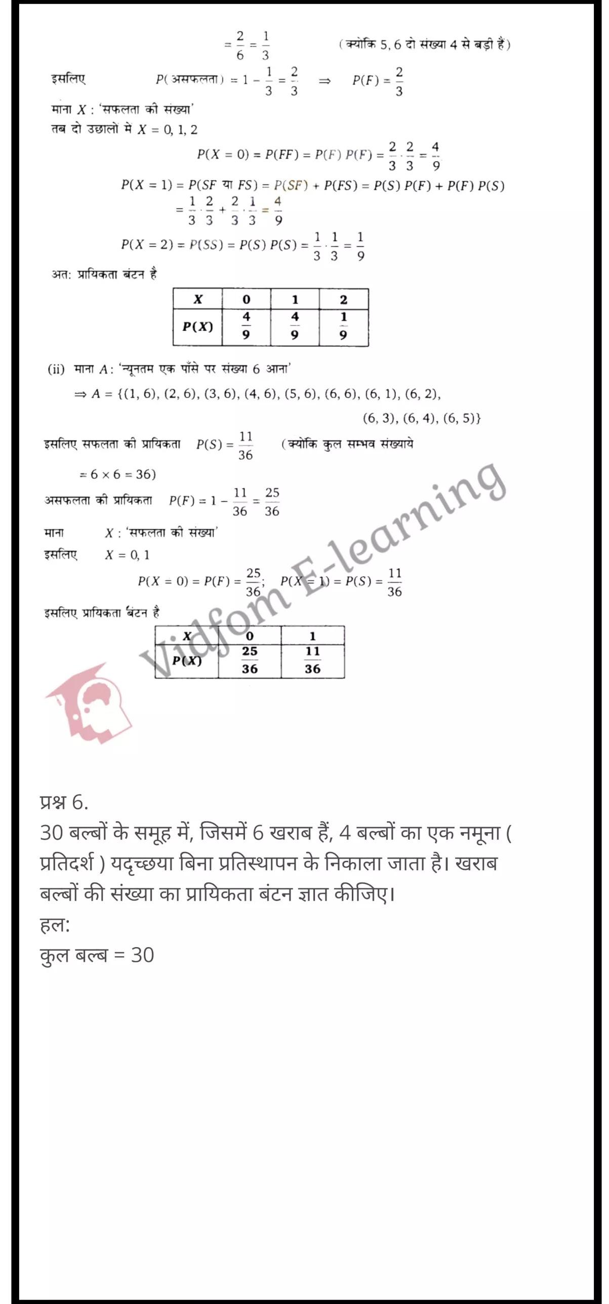 class 12 maths chapter 13 light hindi medium 30