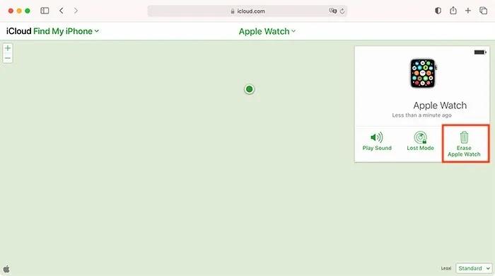 قم بإلغاء إقران Apple Watch Activation Lock Icloud