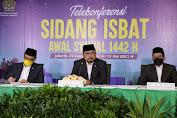 Pemerintah Tetapkan 1 Syawal 1442H Jatuh Pada Kamis, 13 Mei 2021