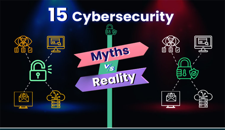 15 Cyber Security Myths Vs Realities for Critical Infrastructure #infographic