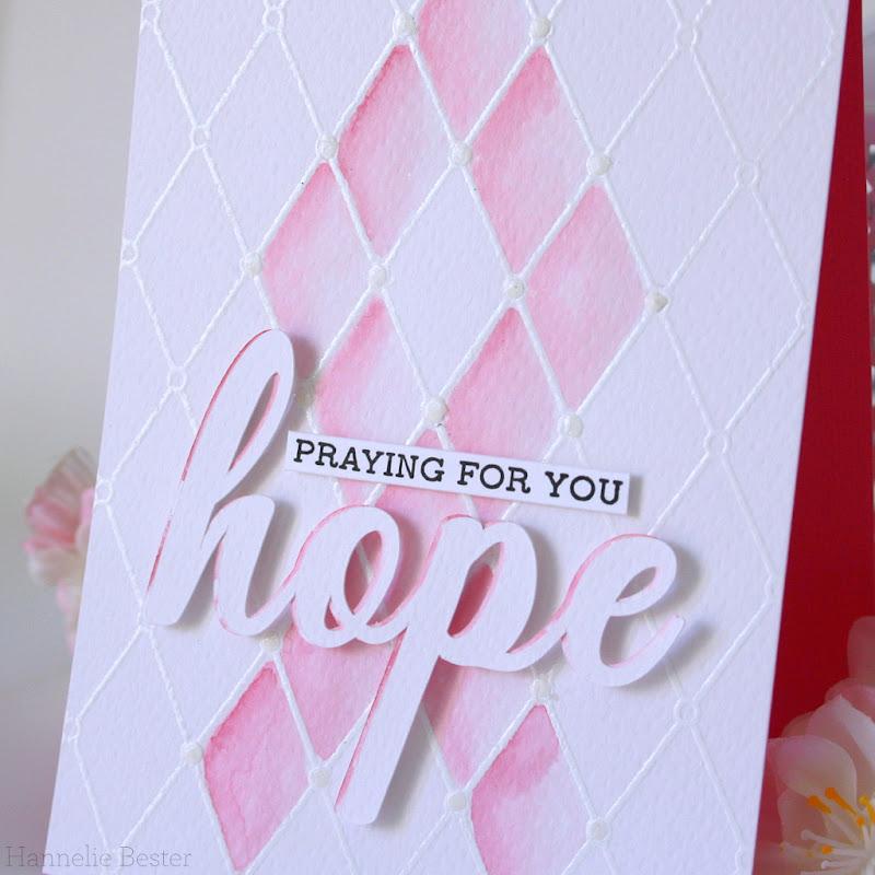 Encouragement card : Breast cancer awareness