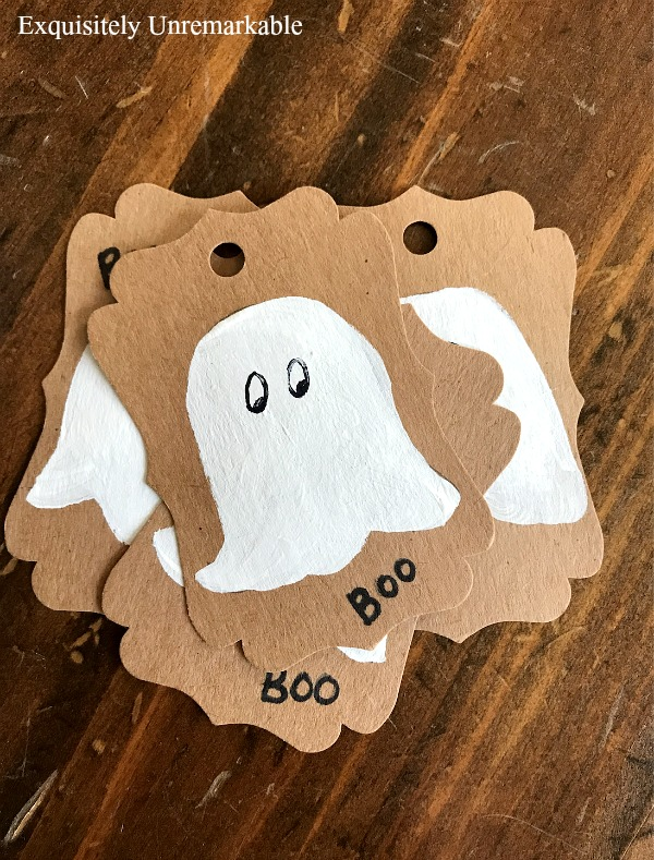 Cute Ghost Decor For Halloween
