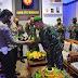 Polres Berikan Ucapan HUT TNI Kepada Kodim