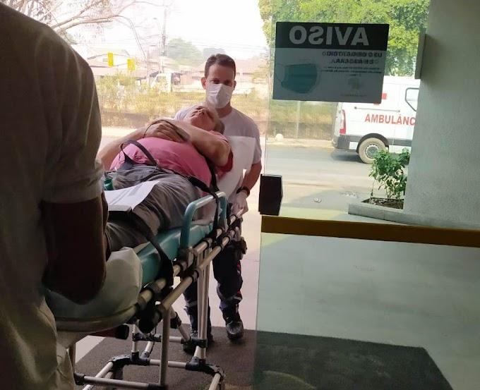 Ex- pré candidato a prefeito pelo PSB  de Rosário Oeste está internado na Capital para tratar de uma hemorragia no estômago