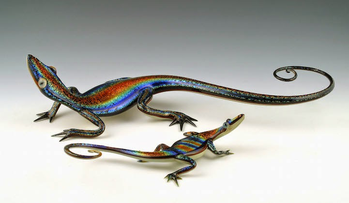hand blown glass creatures sculptures scott bisson-8