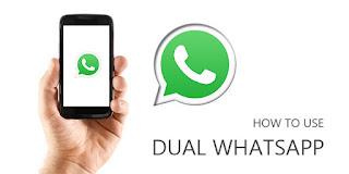 Cara Menggunakan 2 Aplikasi Whatsapp dalam 1 HP