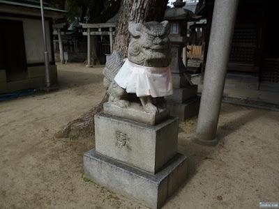 霊符社狛犬