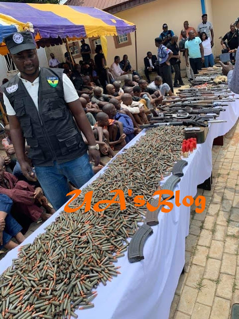 International arms-smuggling syndicate arrested in Oyo