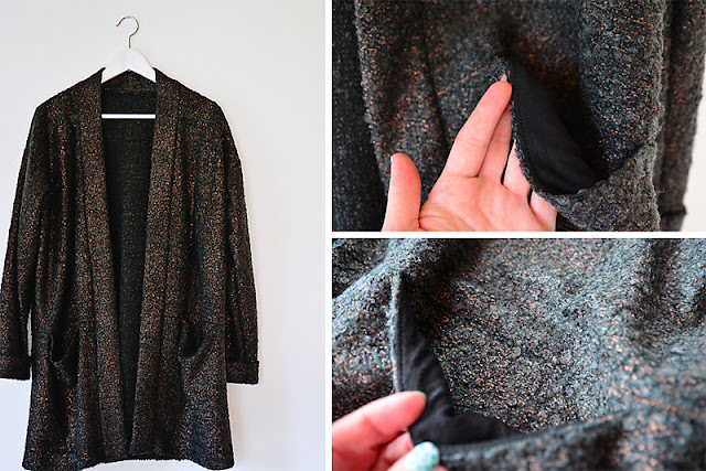 Esme Maxi Cardigan von Named Clothing @frauvau.blogspot.de