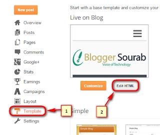 Breaking News Ticker For Blogger Blogger Sourab Voice Of Technology
