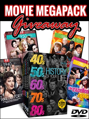 Enter to win the Mega Movie Pack Giveaway. Ends 4/20.