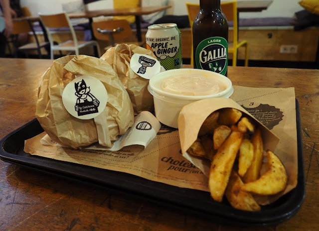 24 hours in Paris - vegan - Hank burger