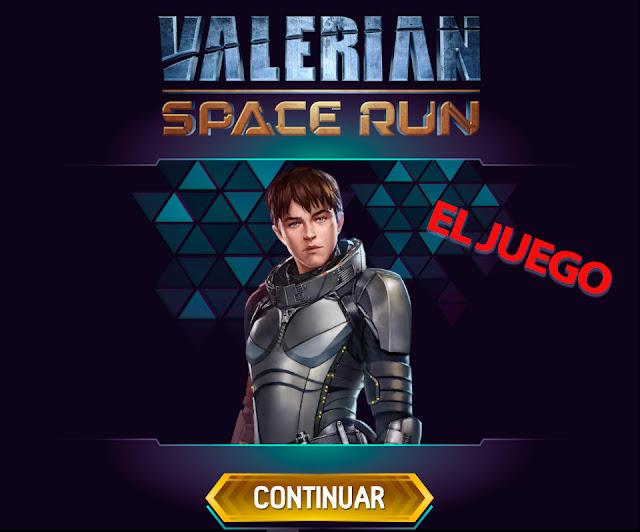 Juego online gratis de la película Valerian