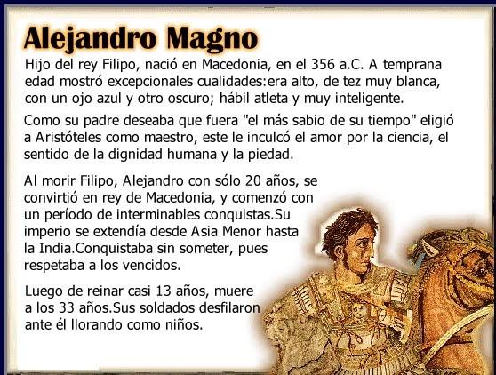 biografia de alejandro magno yahoo dating