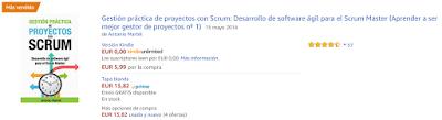 Libro Gestión Práctica de Proyectos con Scrum número 1 en ventas