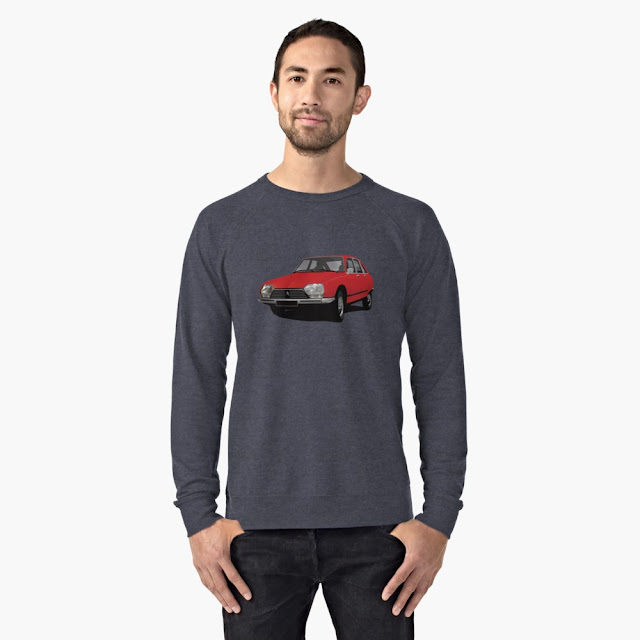 Citroën GS classic car shirts