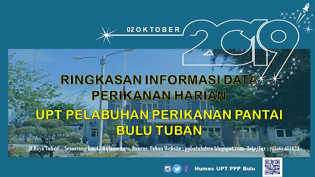 Data Perikanan PPP Bulu 2 Oktober 2019