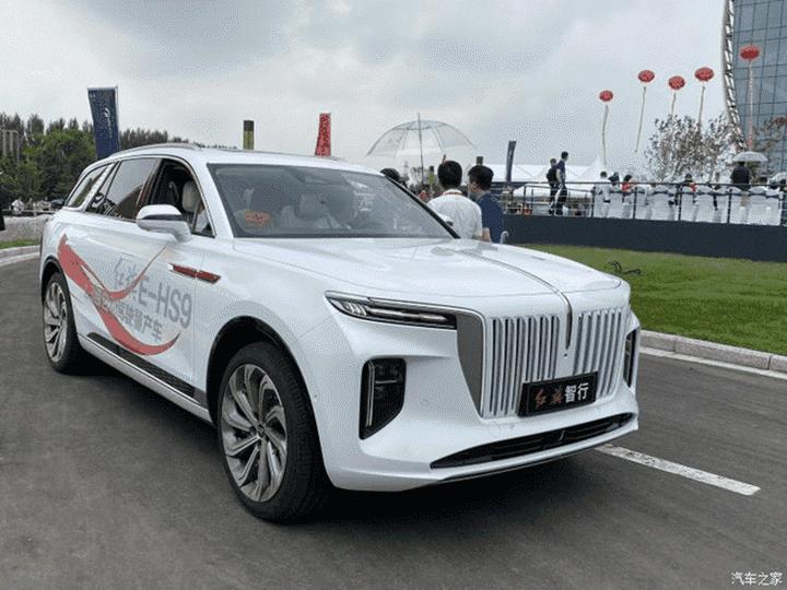 Lộ diện SUV siêu sang chạy điện của Trung Quốc