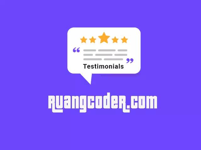 Membuat Testimonial Slider dengan jQuery & CSS