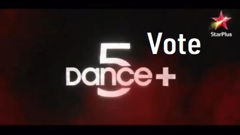dance plus 5 vote