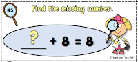 Example of missing numbers
