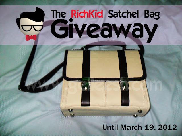 Satchel bag giveaway