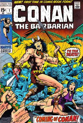 Conan the Barbarian #1, Barry Smith