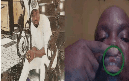 Kcee's manager beats Harrysong's manager to pulp in public (photos)