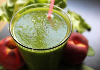 Avocado Spinach Creamy Green Shake