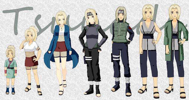 Naruto Karakter - Kumpulan Foto Tsunade dan Fakta Tsunade