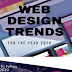 Web Design Trends For The Year 2020 #infographic