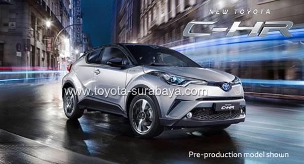 Spesifikasi Harga Kredit Cicilan Toyota C-HR Surabaya