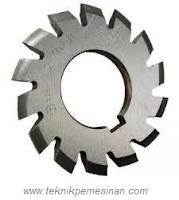 pisau modul untuk pembuatan roda gigi helix