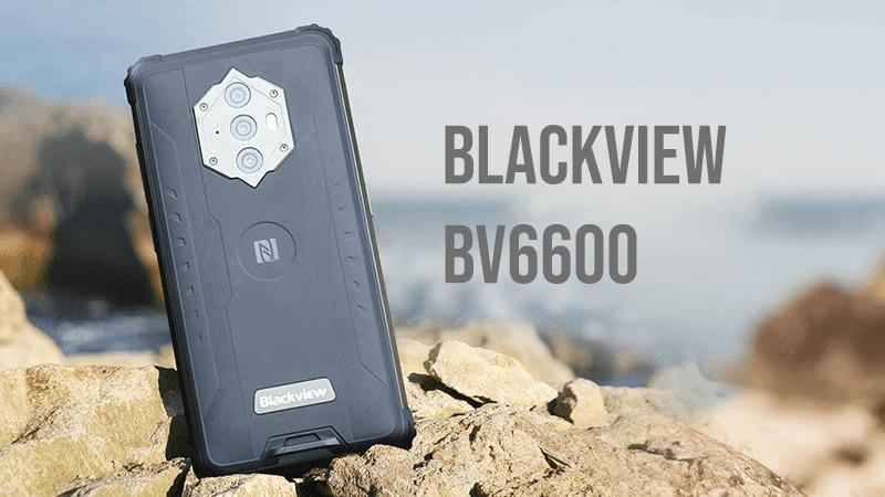 Blackview BV6600 rugged smartphone