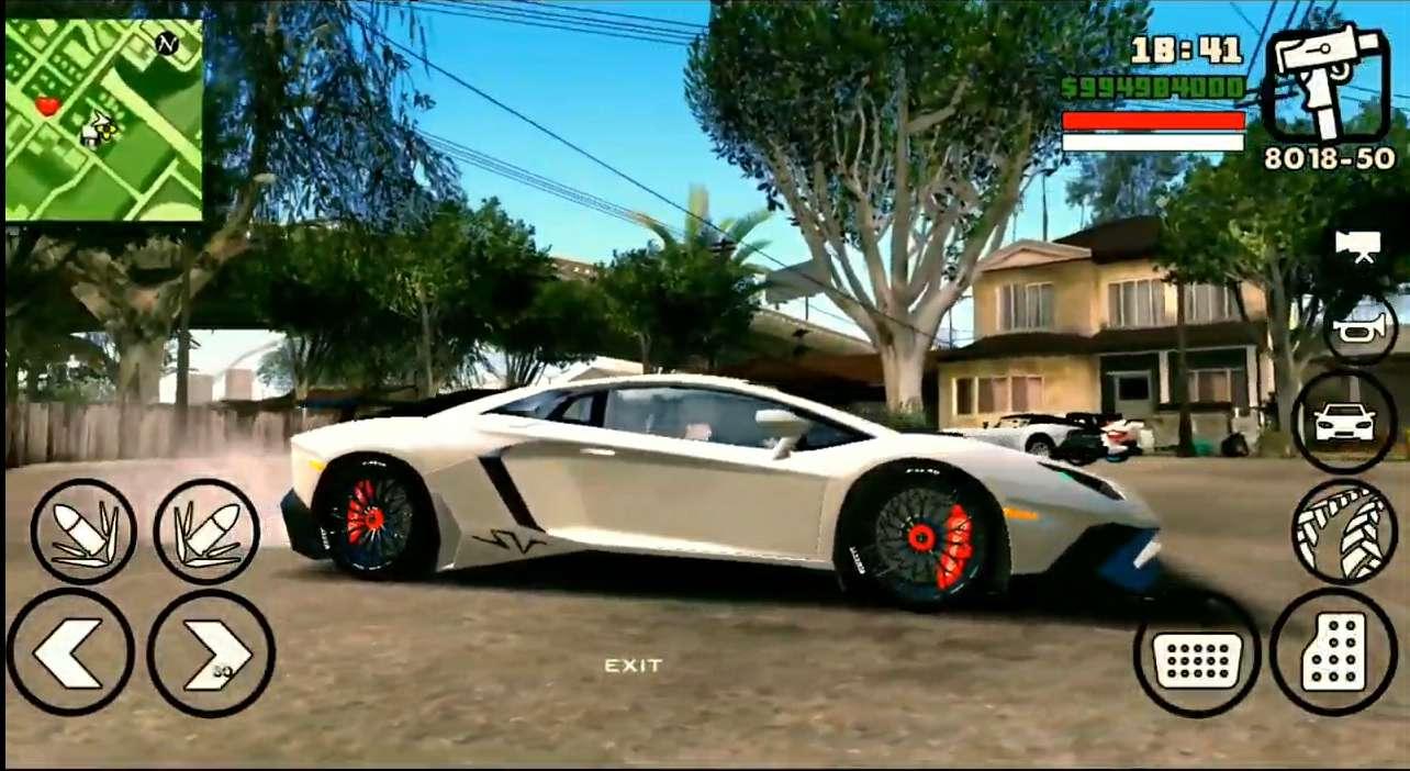 GTA SA FULL MOD GRAFIK HD UNTUK ANDROID OS PIE 200MB NO LAG
