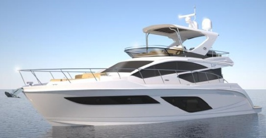 Poweryacht Mag Global Informative Motor Yacht Page Project Sea Ray L550 Fly