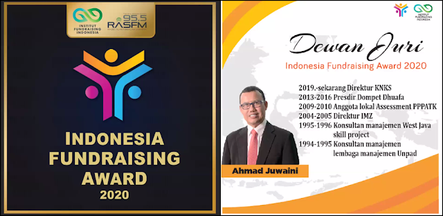 Ahmad Juwaini Indonesia Fundraising Awards 2020
