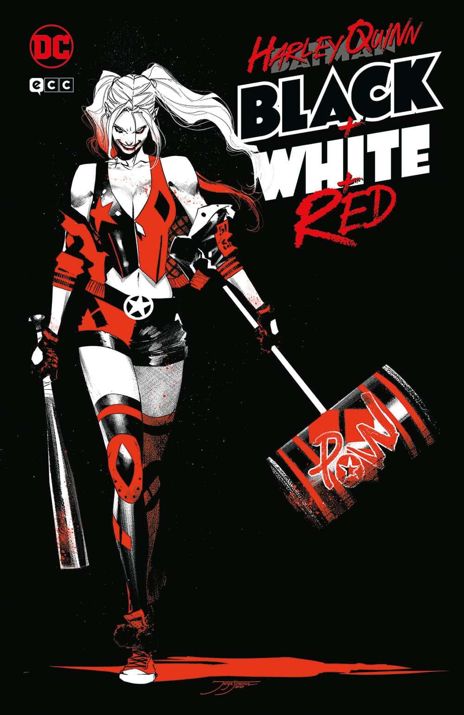 Harley Quinn: Blanco, Negro y Rojo