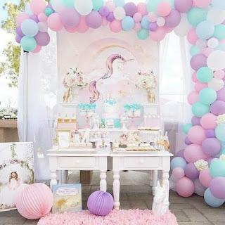 Decoración de Fiestas Infantiles con Unicornios