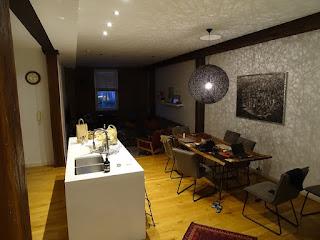 Brisbane-Teneriffe Woolstore Apartments Rauminnenansicht