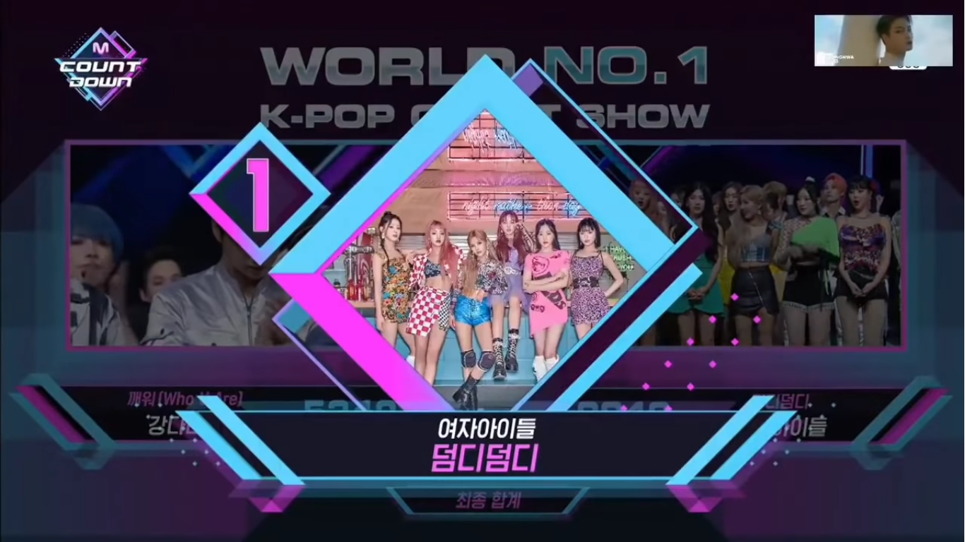 (G)I-DLE Takes Home The 2nd Trophy For 'DUMDi DUMDi' on 'M! Countdown'