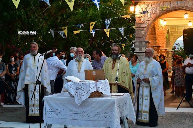 Η εορτή του Αγίου Παντελεήμονα στην Δαλαμανάρα Αργολίδας (βίντεο)