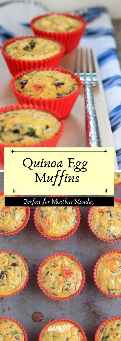 Quinoa Egg Muffins #healthyfood #dietketo