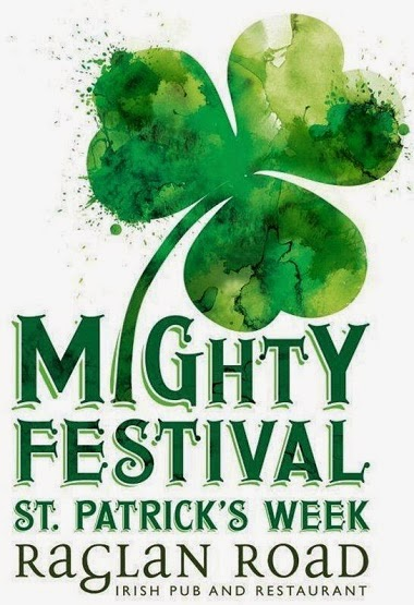ragland road might st patrick's festival logo