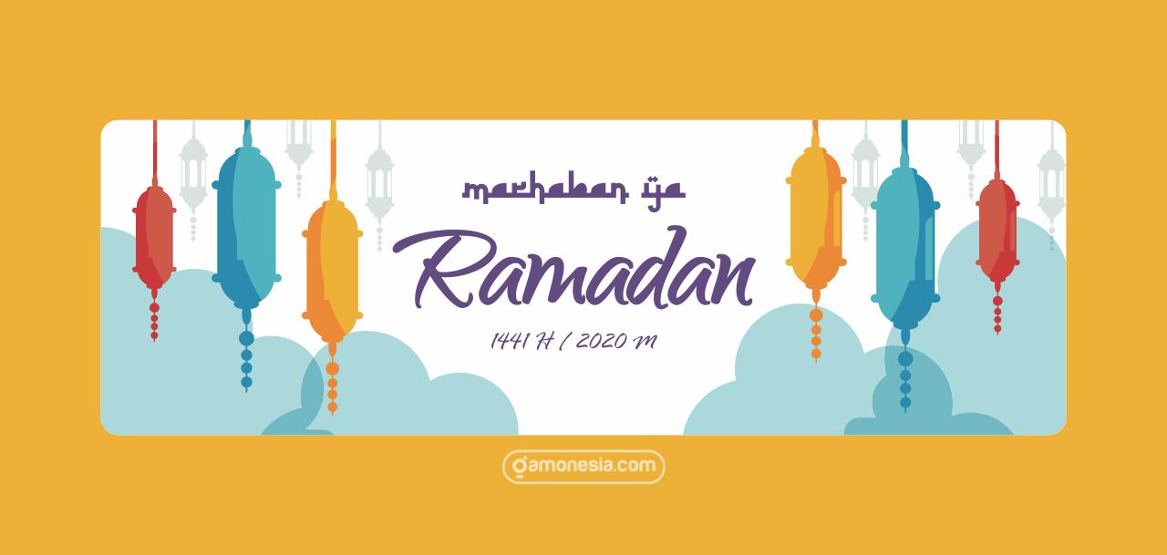 Desain banner tarhib ramadhan cdr