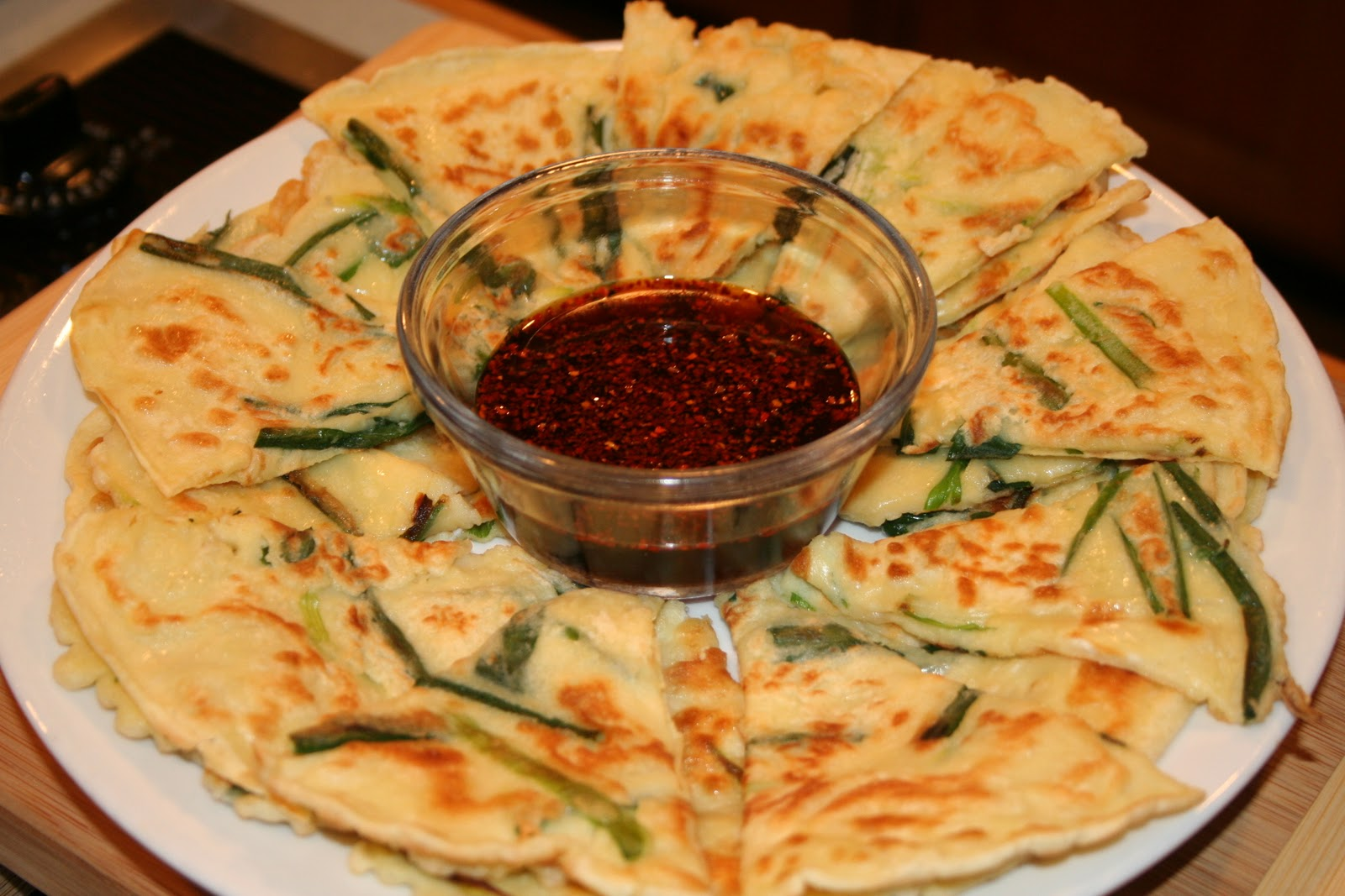 COOK WITH SUSAN: Korean Green Onion Pancakes